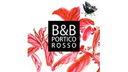 logo portico rosso beb vicenza