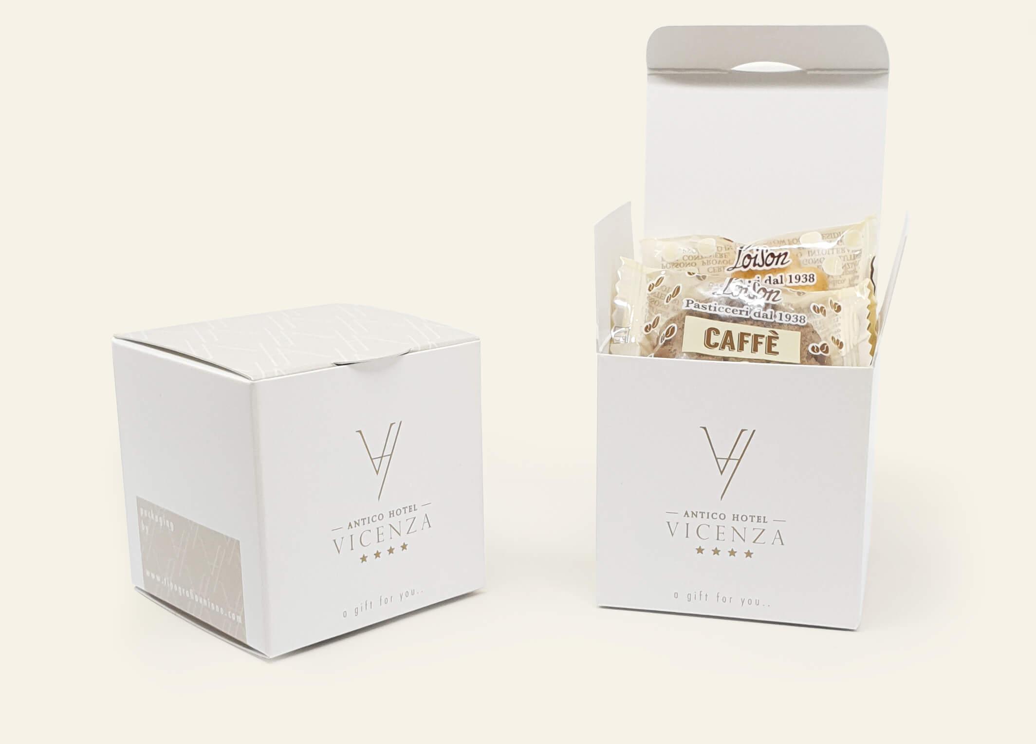 confezioni biscotti personalizzate antico hotel vicenza